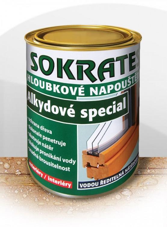 Napouštědlo hloubkové na dřevo, alkydové SPECIÁL  0,7 kg
